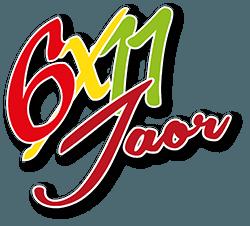 6x11 Jarig Jubileum Logo